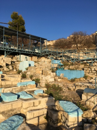 The cemetery in Tsfat where the kever/grave of the Ari is located.
